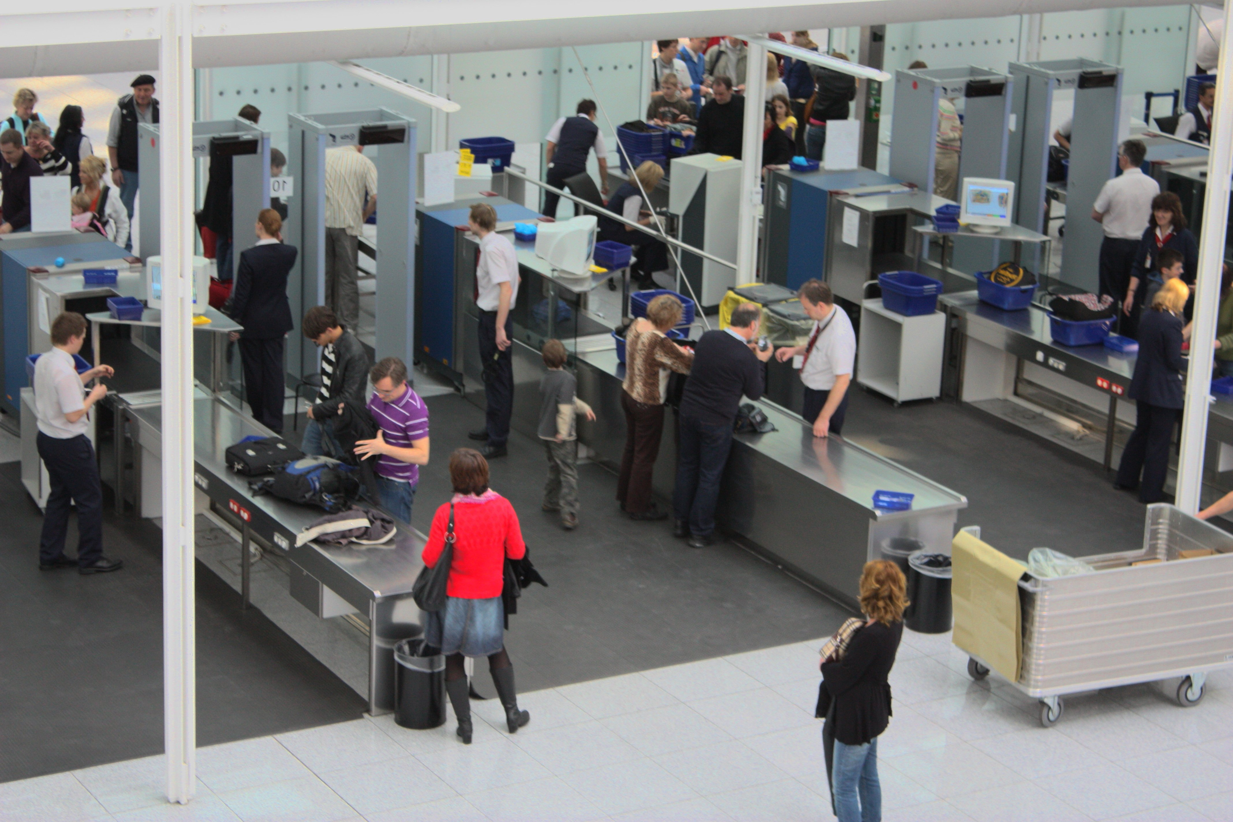 Security & ID Scanners - Houston  Boarding Gate Readers