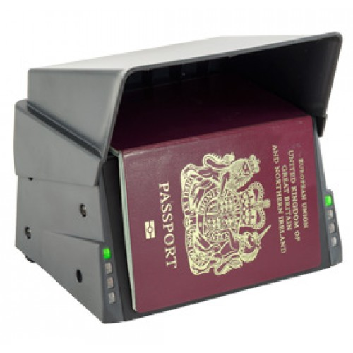 Access-IS OCR640e Desktop Barcode Scanner and Passport Reader