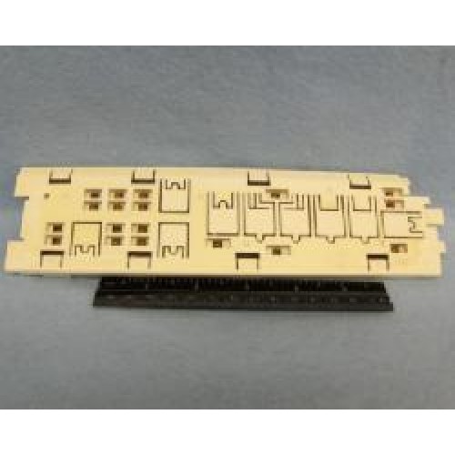 Okidata ML 320/320T Dot Matrix Printer Operator Panel With PCB - PN: 50069603