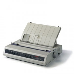 Okidata ML186 Dot Matrix Printer (Serial & USB) - PN: 62422401