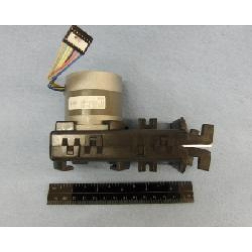 Texas Instruments/Genicom ATB1600 Thermal Printer- Burster Assembly w/ Motor - PN: 2556364-8001